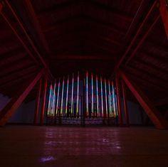 """Luminous Sound Design"" (Installation, 2013) #lights #design #installation #sacredgeometry Platonic Solid, Sound Design, 2013, Sacred Geometry, Lights, Photography, Instagram, Home Decor, Art"