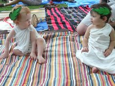 Brooklyn Bean: Baby Toga Party