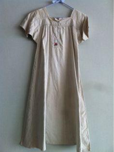 アンティークリネンワンピース刺繍ジャーナルスタンダード Antique linen ¥1100yen 〆04月06日