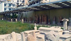 Exhibits from the yard of the archaeological museum. Athens, The Locals, Greece, Walking, Museum, Yard, City, Travel, Greece Country