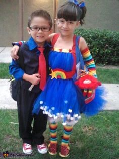The Tenth Doctor And Rainbow Brite