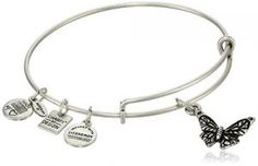 Continue reading Alex and Ani Charity by Design Butterfly Charm Bangle Bracelet, 7.75″ at Jewelry.