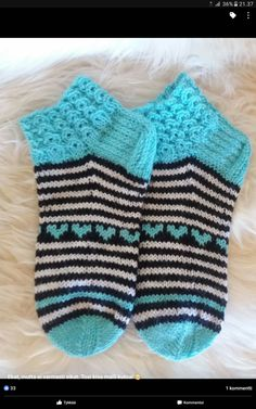 Inspired by the dainty lilac flower and starting with a scalloped edge, these socks are knit from the cuff down and embellished with flowers created b Crochet Socks, Knitting Socks, Baby Knitting, Knit Crochet, Knit Baby Dress, Cool Socks, Handicraft, Knitting Patterns, Slippers