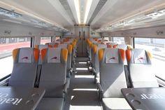 Italo treno inside economy coach