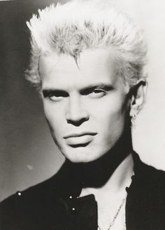 Billy Idol really has a great face