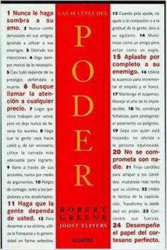Las 48 Leyes del Poder (Spanish Edition): Robert Greene: 9789500826037: Amazon.com: Books