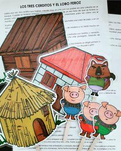 Sorting Activities, Classroom Activities, Activities For Kids, Three Little Piggies, Little Pigs, Crafts Fir Kids, Diy And Crafts, Felt Board Patterns, Kindergarten