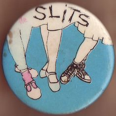 The Slits. Punk pin badge circa 1977