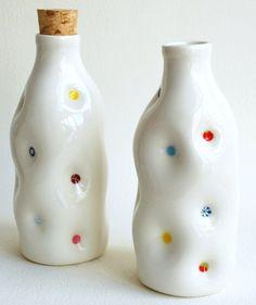 Dimple ceramic bottle                                                                                                                                                                                 More