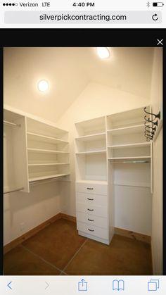 Something similar for master closet