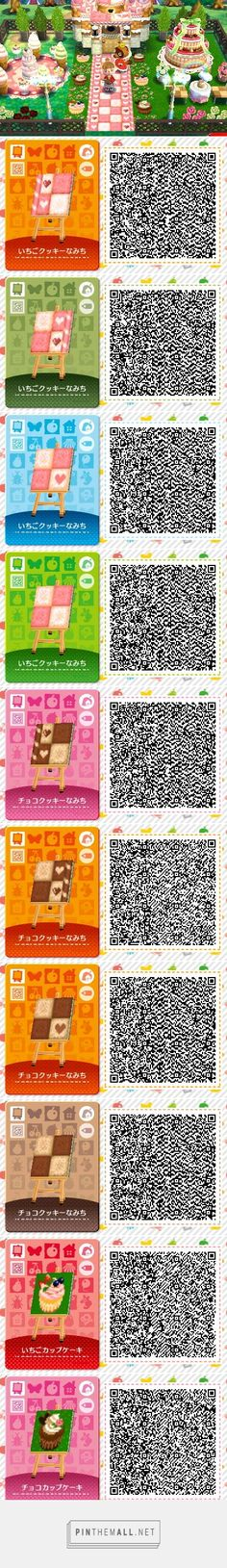 Sweets themed path and cupcakes tiles Animal Crossing Qr, Types Of Animals, Cute Animals, Acnl Paths, Awsome Pictures, Ac New Leaf, Happy Home Designer, Qr Codes, Pixel Art