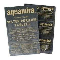 Water Purifier Tablets