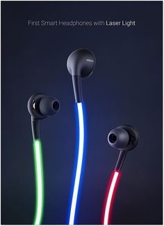 Glow  The First Smart Headphones with Laser Light by Glow 3262fa48529