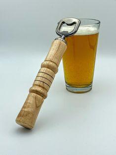 Beer Bottle Opener, Bottle Openers, Handmade Home, Handmade Items, Summer Barbecue, Beer Lovers, Walnut Wood, Wood Crafts, Great Gifts