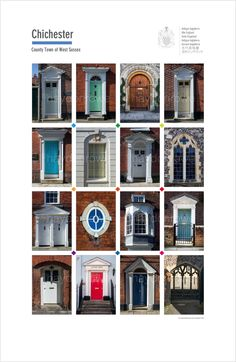 Chichester. Posters of cities and towns @ theclassicpostercompany.com