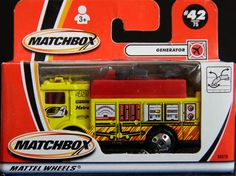 Matchbox Airport Fire/Rescue Generator lighting truck