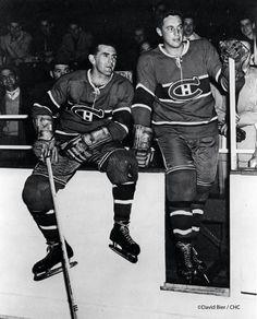 Maurice Richard and Jean Beliveau Hockey Shot d2ec21fbc