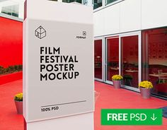 "Check out new work on my @Behance portfolio: ""Free Film Festival Poster Mockup"" http://be.net/gallery/32660129/Free-Film-Festival-Poster-Mockup"