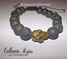 """0df10e49897f Accesorios CollantesRojas on Instagram  """"A la venta pulseras de piedras  volcánicas💫 Para mayor información escribir al ws del📲🇻🇪  +584264478466😘 ..."""