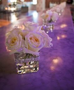 Lots of BLING WEDDING decor for sale.(Manzanitas, Chandeliers, Crystals, etc.) : wedding white Square