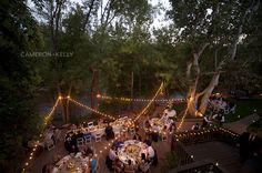 L'Auberge de Sedona Wedding - Creekhouse Patio reception by Cameron & Kelly Studio
