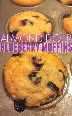 Almond Flour Blueberry Muffins – Simply Taralynn