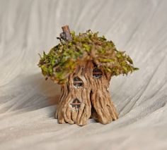 MINIATURE: Fairy House Hobbit House Gnome Home by gingerlittle on Etsy, $24.00