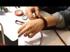 Do you have some old or damaged belts? In very easy way you can make a nice, stylish and very original jewelry at low cost! Cute handmaded bracelets!
