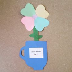Give your mother a wonderful gift for Mother's day to make her feel special. Here is our craft from Alamitos library.