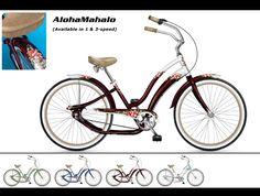 Phat Cycles - Beach Cruisers: Designer Bicycles - Aloha Mahalo