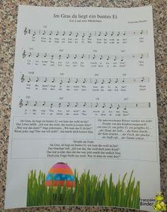 Song Sheet, Sheet Music, Diy Wall, Fabric Crafts, Diy And Crafts, Easy Diy, German, Easter, Songs