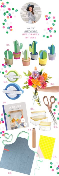 gift guide: get crafty...