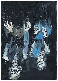 Artist Georg Baselitz (German: 1938) - Ahnenstunde (2012)