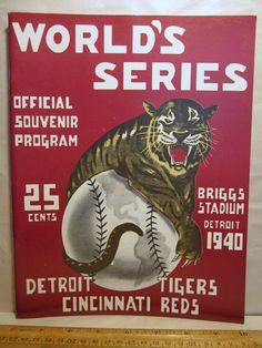 926 of 1000 1939 Baseball Worlds Series Opie Detroit Tigers Cincinnati Reds   eBay