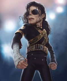 MJ - Michael Jackson - CARICATURE: http://dunway.com/