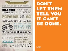 Free printable posters featuring quotes