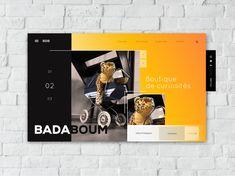 Badaboum designed by Anais Calmon. the global community for designers and creative professionals. Boutique, Peterborough, Saint Charles, San Luis Obispo, Salt Lake City, Show And Tell, Minneapolis, Community, Design