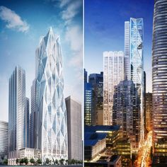 Oceanwide Center's Construction Pauses Temporarily - San Francisco YIMBY Vertical City, Building Development, Foster Partners, The Two Towers, Concrete Structure, Time Photo, How To Level Ground, San Francisco Skyline, The Fosters