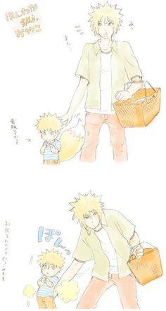 Minato & Naruto :3