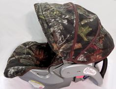 Custom Boutique Mossy Oak Camo Infant Car Seat by smallsproutsbaby, $109.00