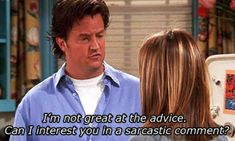 44 Reasons Why Youre Chandler Bing. Just realized how much I really am like Chandler Bing Friends Tv Show, Tv: Friends, Chandler Friends, Chandler Quotes, Friends Episodes, Friends Moments, Funny Friends, Friends Forever, Quote Friends
