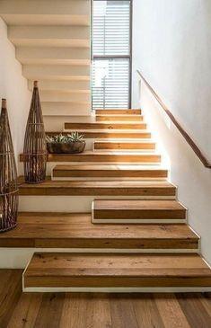 Home Stairs Design, House Design, Stair Design, Modern Kitchen Design, Modern Design, Architecture Design, Islamic Architecture, Diy Casa, Stair Steps