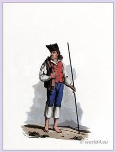 Peasant of Torres Vedras Portugal in 1808