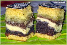 Hungarian Cake, Polish Recipes, Polish Food, Traditional Cakes, Lebanese Recipes, Homemade Cakes, No Bake Desserts, Sushi, Recipies