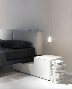 Copy this look, make a simple night stand. The Design chaser
