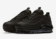 Nike Air Max 97 Triple Black Release Date 921733-001 | SneakerNews.com