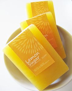 lemon sugar soap.