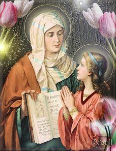 Vidas Santas: Santa Ana, Madre de la Santísima Virgen María