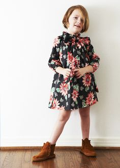 I shall dress my future children in vintage styles!