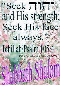 Shabbath Shalom mishpacha! HalleluYAH